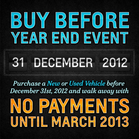 Graff Chevrolet's Buy Before Year End Event Happening Now!