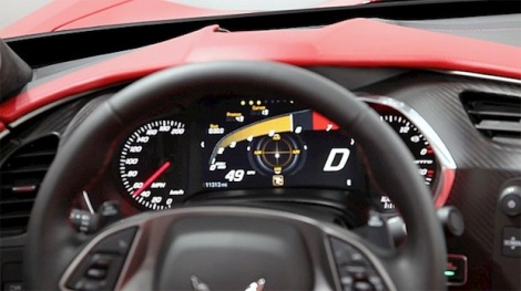 2014 Corvette Stingray Customizable Instrument Cluster