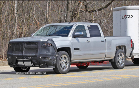 New Luxury 2014 Chevrolet Silverado High Country Spied Testing