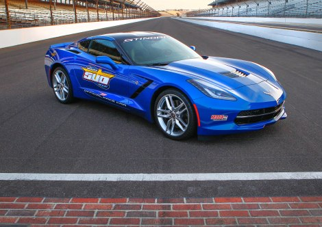 Indianapolis 500 Pace Car - 2014 Corvette Stingray