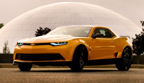 2014 Camaro Concept to Cameo in Transformers 4