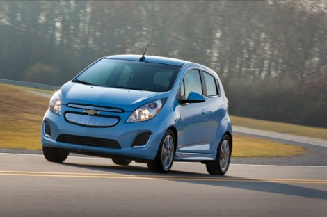 2014 Chevrolet Spark EV Review
