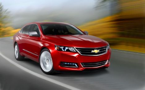 Chevy Impala Voted Top Sedan by Consumer Reports