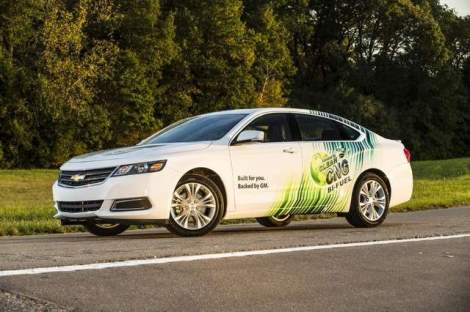 Chevrolet Introduces Bi-fuel 2015 Impala