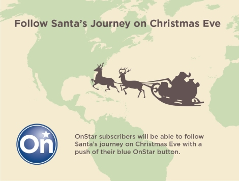 Use OnStar To Follow Santa's Journey