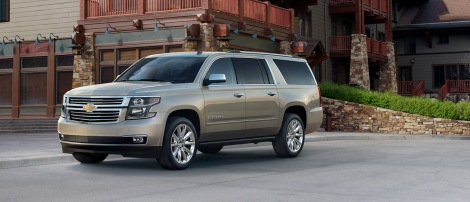 Just Announced: 2015 Chevy Tahoe/Suburban Pricing