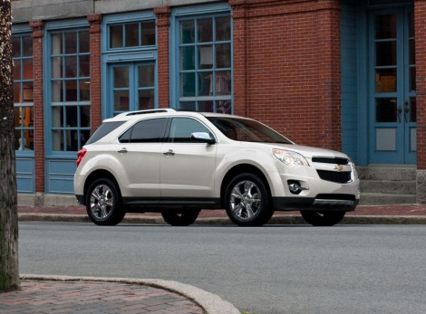 Chevy Equinox & Malibu Earn IIHS Top Safety Pick+ Rating