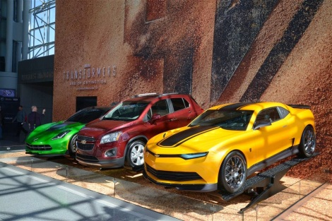 GM Facilities Star in Transformers 4: Age of Extinction