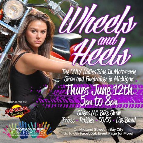 Wheels & Heels Ladies Ride In
