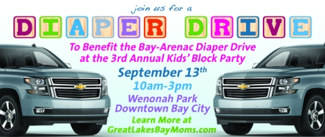 Bay City Events - Diaper Drive