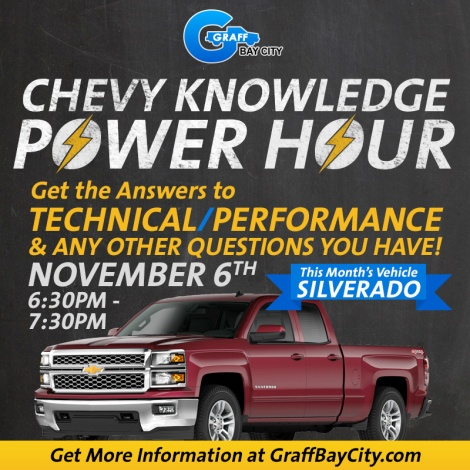 Chevy Knowledge Power Hour Car Clinic