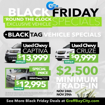 Black Friday Deals at Graff Bay City